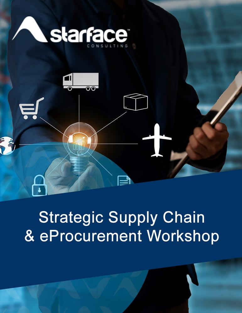 Starface Consulting Strategic Supply Chain and eProcurement Workshop Thumbnail